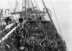 Ellis Island passengers on ship3a13598uw